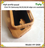 High quality Natural wood For Samsung Galaxy S4 i9500 wood case cover