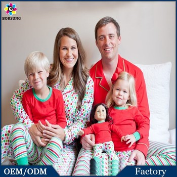 Latest Design Family Polka Dots Pajamas,Christmas Striped Pajamas ...