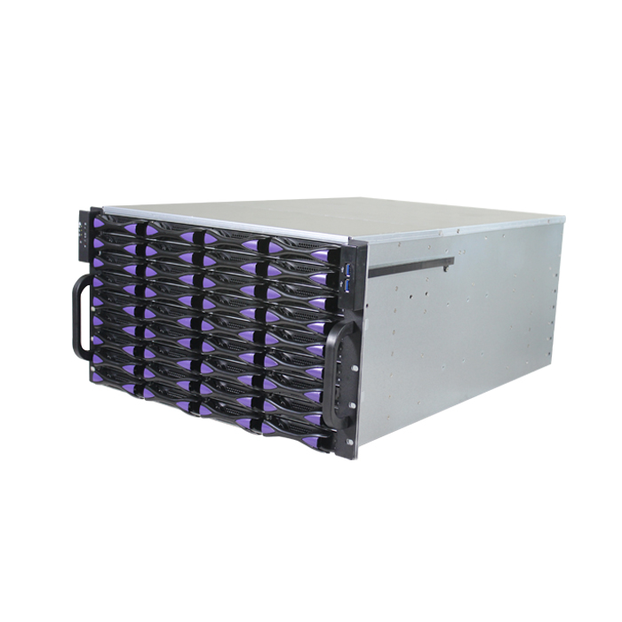 ED660H65-E 6U server chassis with CE certification ROSH certifica 19 inch rack mount chassis NVR solution