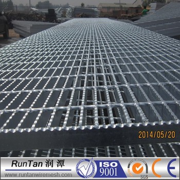 Customized Metal Grate Flooring Catwalk Flooring Grating