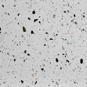 Cheap Black White Terrazzo Tiles Floor