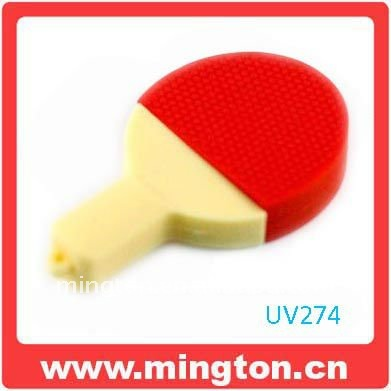 Table tennis racket u disk 4g