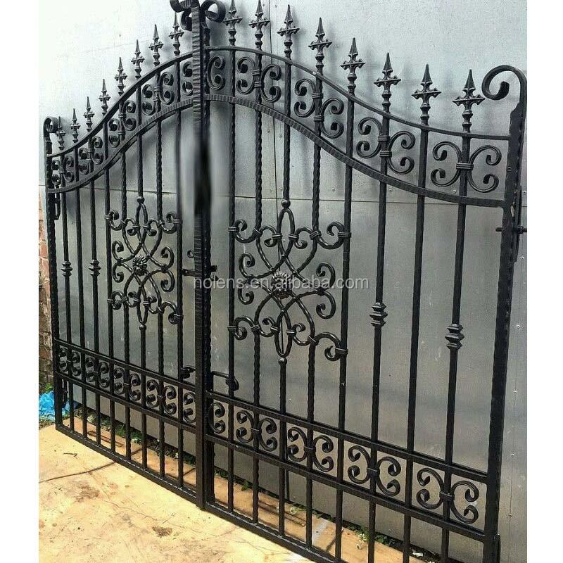 Genial Nolens Used Wrought Iron Door Main Gate/ Gate Grill Design/ornamental  Garden Wrought Iron Gate   Buy Iron Gate Designs,Iron Main Gate  Designs,Decorative ...
