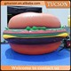 Advertising food model for display, giant inflatable food replica