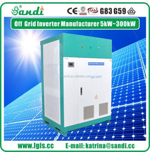 2016 Top Sale 200kw solar off grid inverter Manufacture SANDI