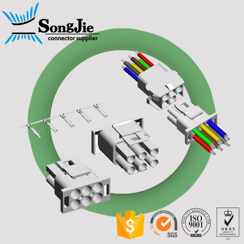 6.35mm housing receptacle automobile application equivalent molex 42021 12a 12 pin 12p plug housing connector