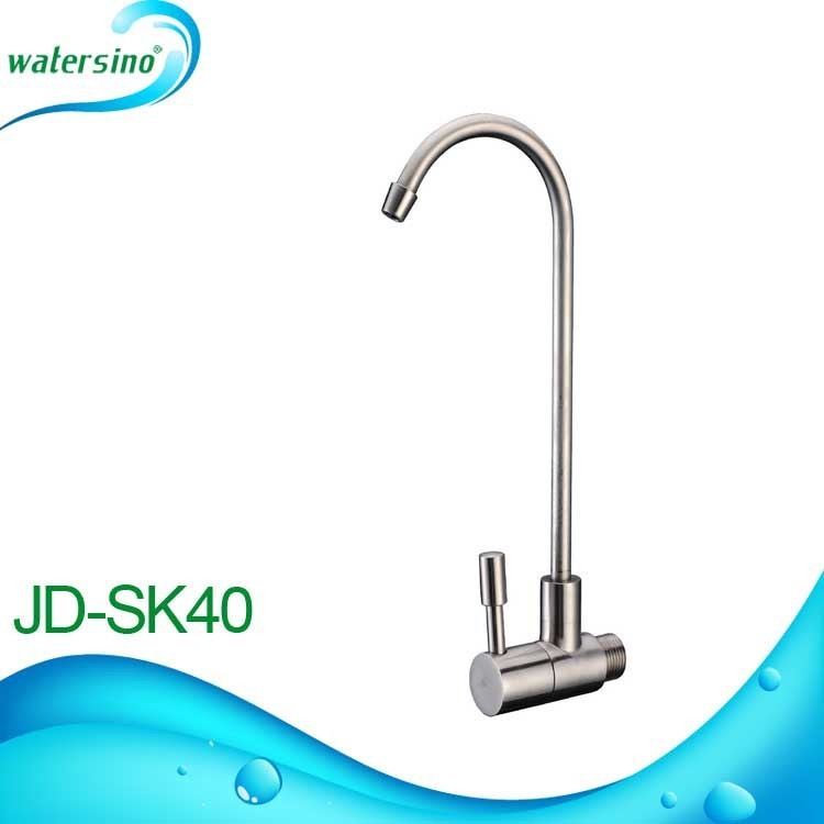 Stainless Steel 304 brushed faucet for drinking fountain JD-SK40