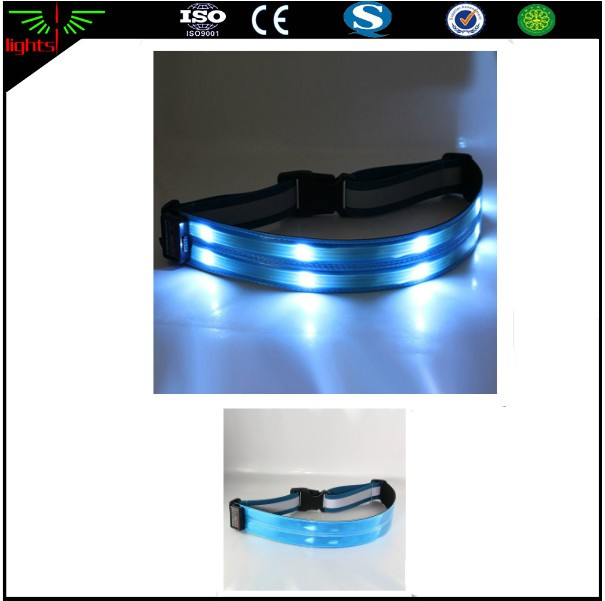 polyester webbing for safety belt / led reflective vest / safety waist belt