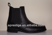2014 leather riding boots with elastic