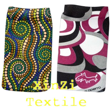 Heat Transfer Printing Cell Phone Sock pouch