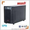 1 kva lcd display ture online ups high frequency design with dsp control and igbt technology