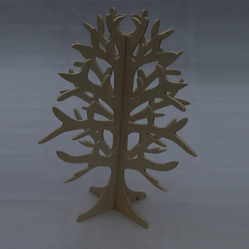 Customized shape christmas tree stand