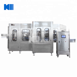 Latest water carbonated soda bottle drink filling plant King machine