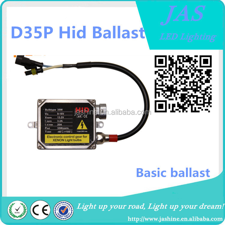 2017 New arrivals good price Canbus no error hid ballast D35P Basic ballast hid ballast