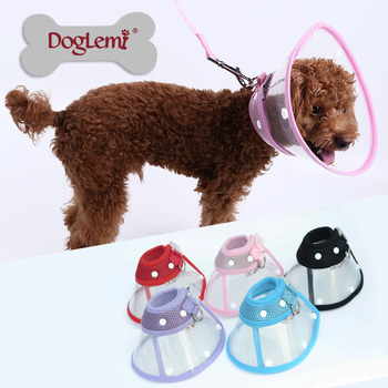 Wholesale Dog Collar Anti Bite Dog Collar Dog Neck Collar Protector in 5 colors