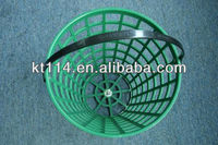 Durable plastic golf ball basket