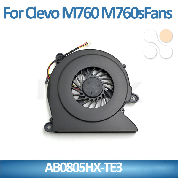 NEW laptop cooling fan replacement AB0805HX-TE3 for Samsung m760 m760s forcecon laptop fan