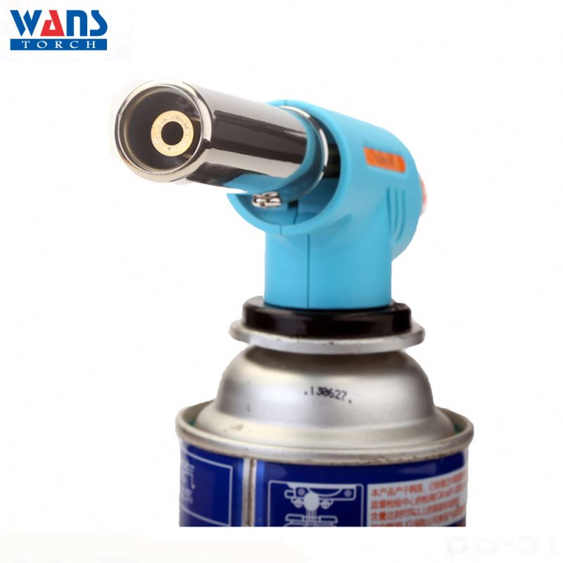Excellent quality High temperature flame cooking welding WS-512C butane torch nozzle lighter