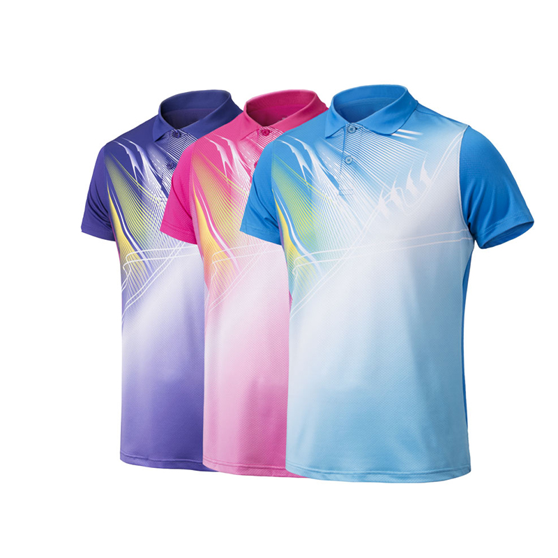 8f64b4e21 Customized Sportswear 100% Full Sublimation Printing Badminton Jersey