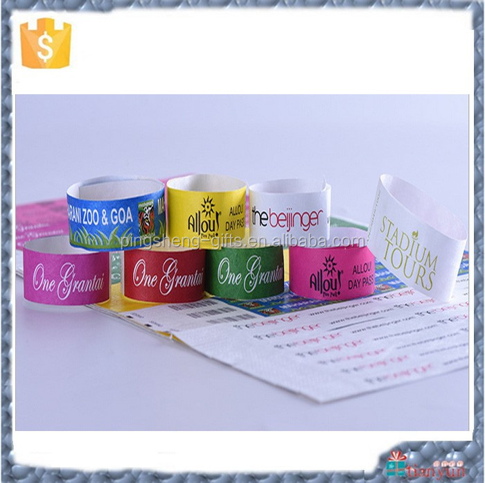 new product tyvek wristbands festival fabric wristbands