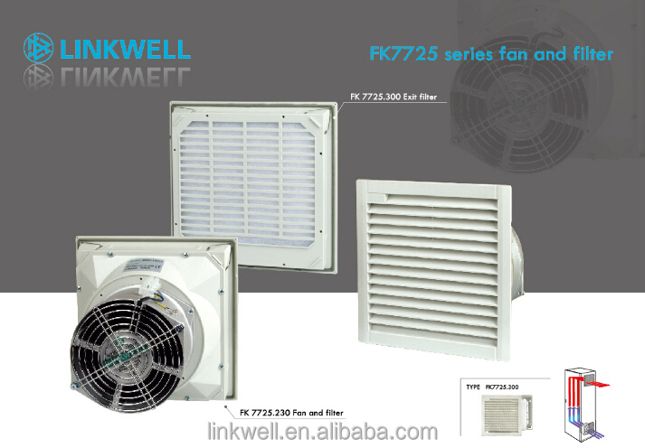 Nice Cabinet Ventilation Aixal Fan Filter, Dust Collector, Exhaust Fan Wholesale
