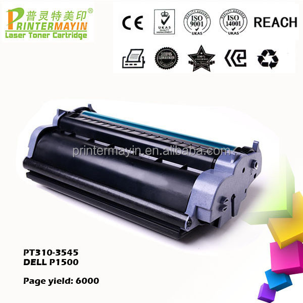 Compatible Toner Cartridge with Cartridge Chip for DELL P1500 (PT310-3545)