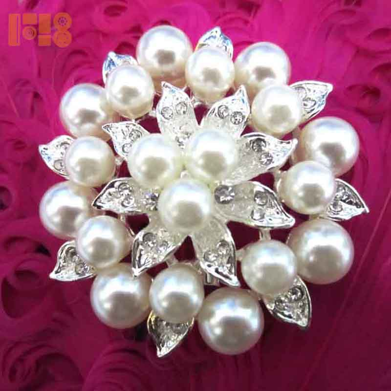 Vintage Bowknot Design Scarf Safety Pin Brooch for Women Girls Ladies LC