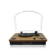 Audmic wooden Classic turntable vinyl vintage record player with wireless Bluetooth
