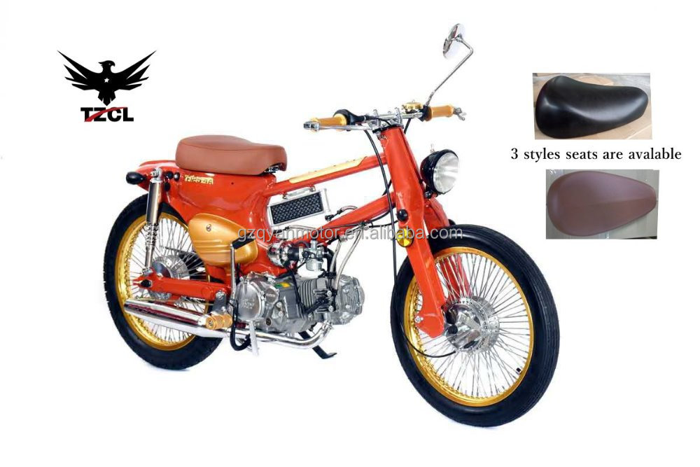 17 inch wheels Classic CUB motorcycle 125 cc