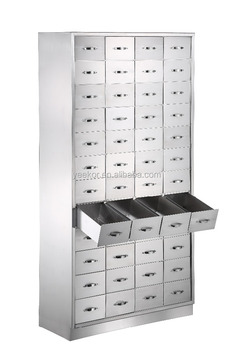 High Quality Stainless Steel Chinese Medicine Cabinet