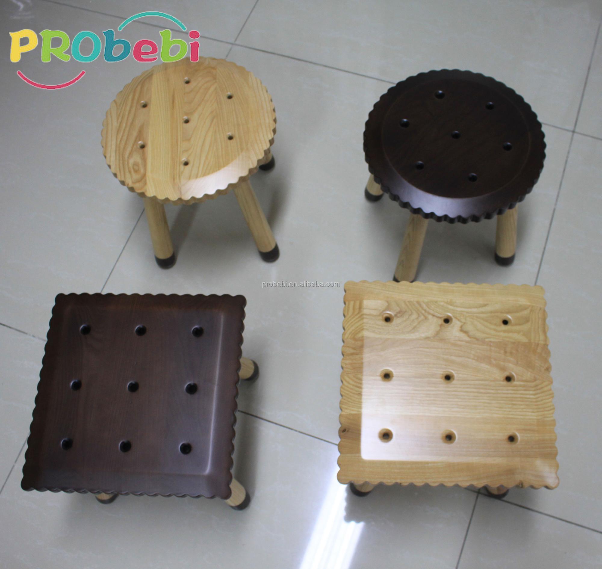 Wooden Material Children S Chair Safe Kids Study Room