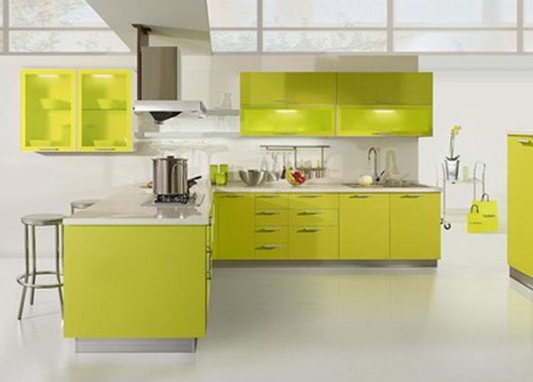 Kitchen Design Karachi intelligent household furniture acrylic kitchen cabinet,kitchen