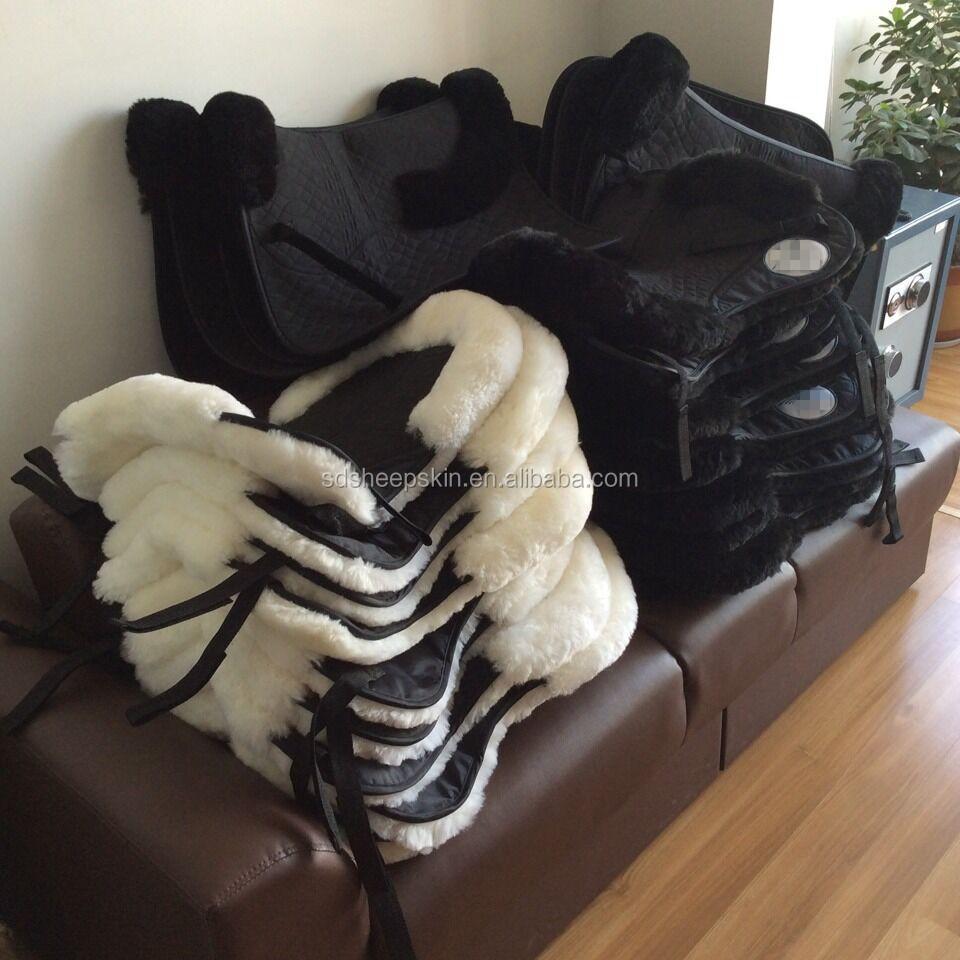 Custom Horse Saddle Pads Wool Horse Riding Quilted Western Saddle Blanket -  Buy Western Saddle Blanket,Quilted Saddle Blanket,Sheepskin Horse Saddle