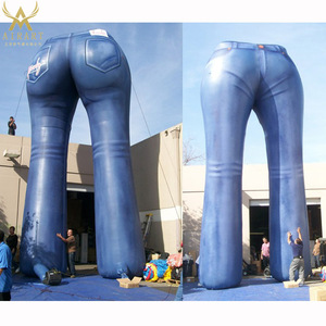 vivid inflatable Jeans pants for commercial advertising