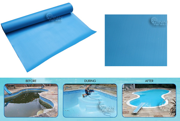 China Manufacturer Waterproof PVC Plastic Pool Liner, Swimming Pool Liner