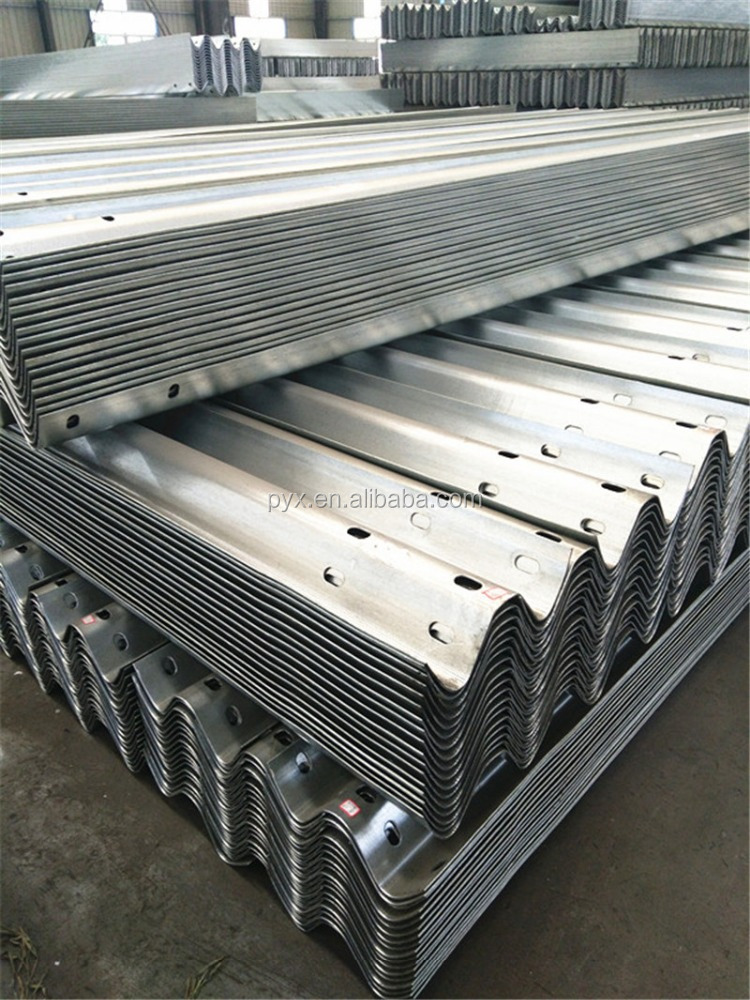highway guardrail sigma post hot dipped galvanized guardrail beam