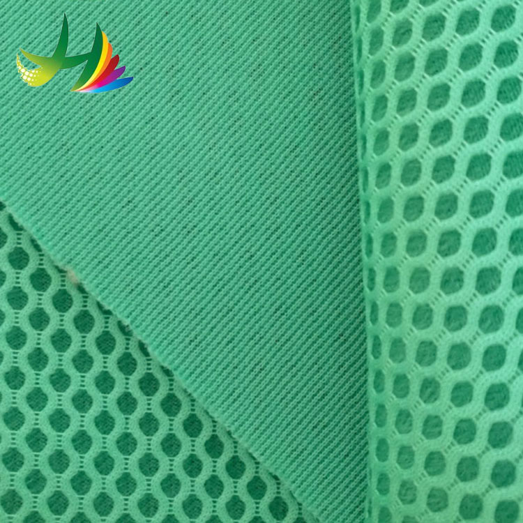 china supplier 100% polyester 3d air mesh fabric for sport shoes