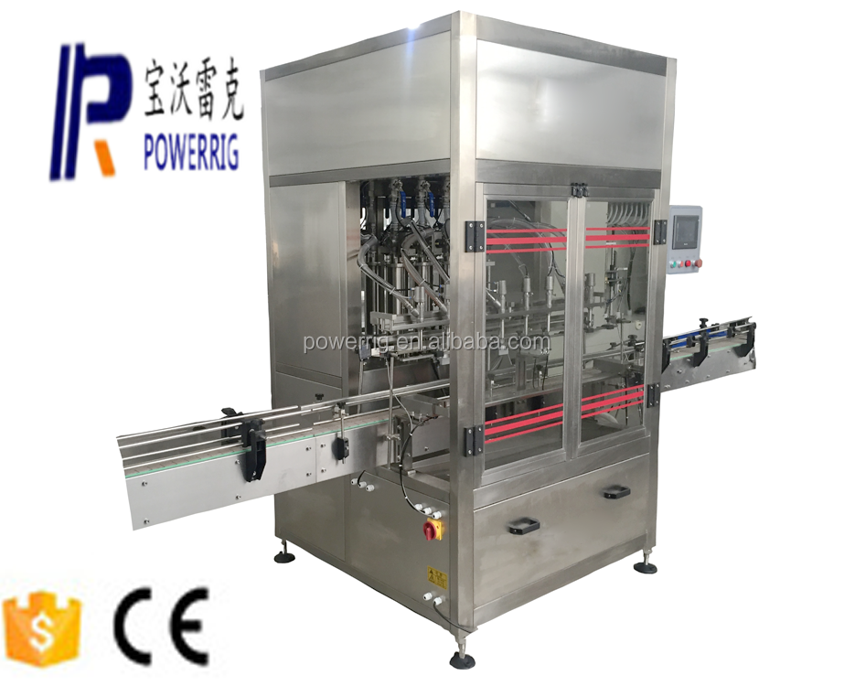 Edible oil or cooking oil filling capping machine