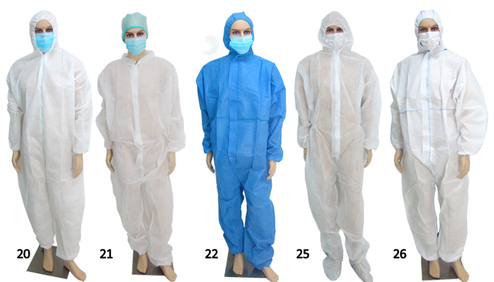 Medical Laboratory Disposable White Sterile Surgical Gown - Buy ...