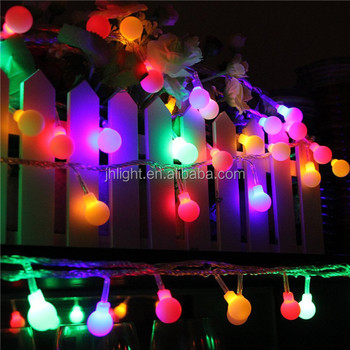 Smart Solar Outdoor String Lights White Crystal Ball Ed Globe Fairy Light For Fence