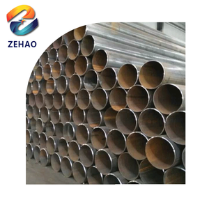 Q235 material thick wall thickness weld round cast iron black steel pipe