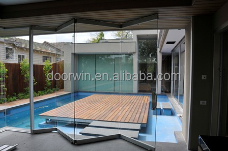 Accordion Glass Doors aluminum frameless folding door,glass door - buy bi folding doors
