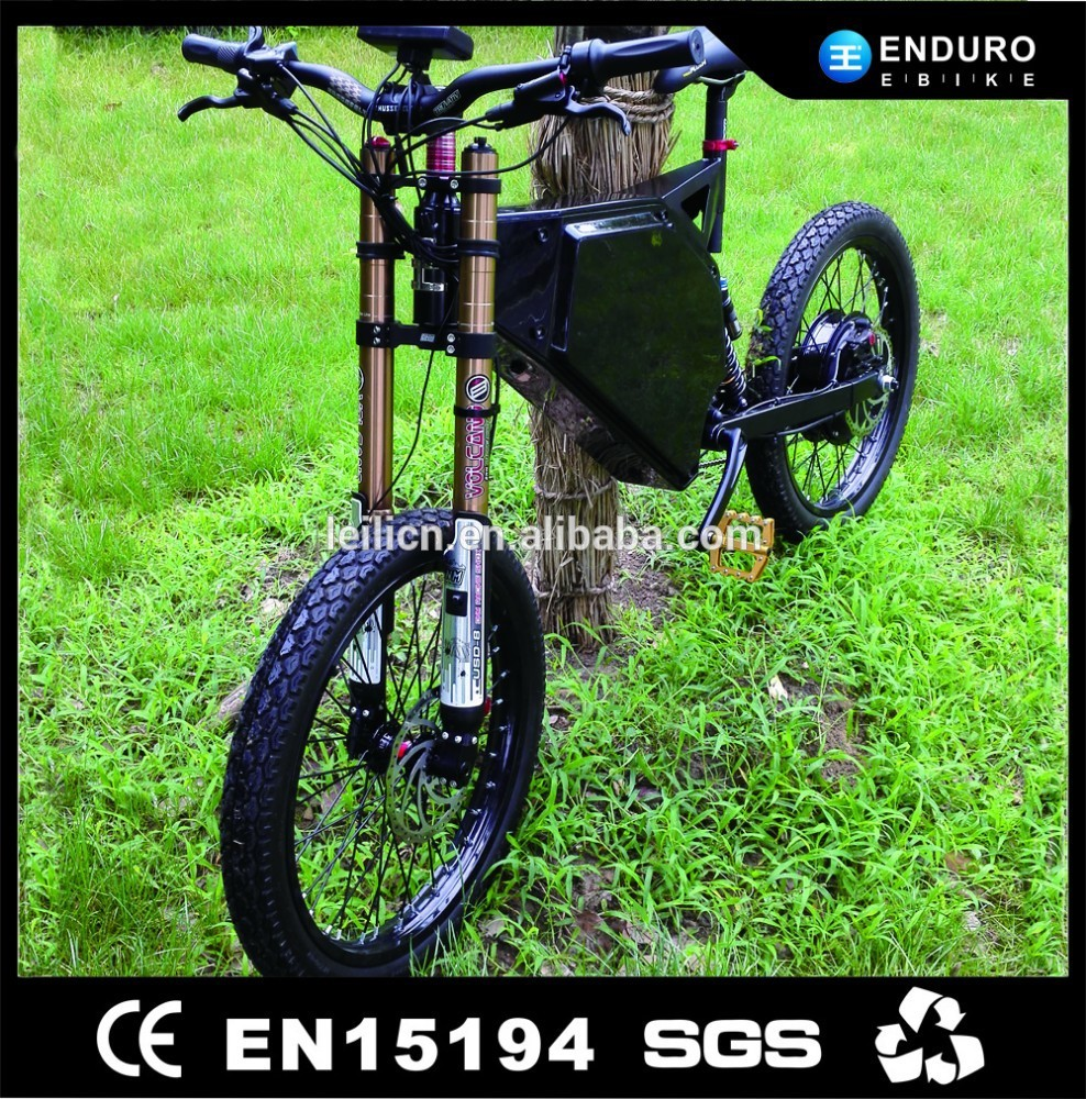 CE-approved 7speed 72v 3kw electric mountain bike/bicycle made in china