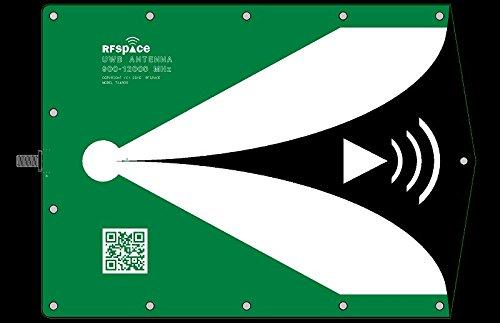 SMAKN Ultra Wide Band UWB Antenna 2.4GHz 10.5 GHz for UWB TX//RX SDR Radar GPR SIGINT EMC Test ADSB WiFi FVP Drone Video Vivaldi Antenna(T)