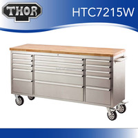 Garage rolling tool box supplier Metal cart with wheels for garage