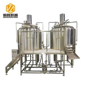 Robust, high performing 304 SS material 7bbl micro brewing equipment