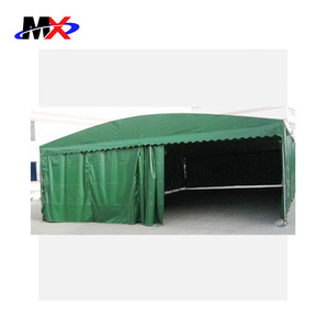2018 New design 3.2m roll pvc material car awning for outdoor