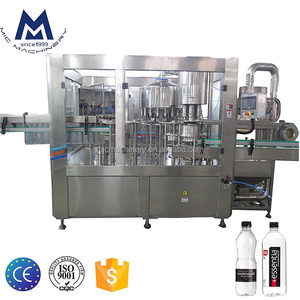 MIC Machinery factory price automatic 3 in 1 mineral water bottle filling machine / small water bottling machine