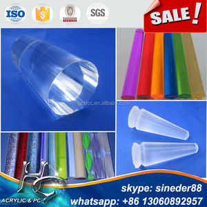 PMMA Extruded custom plexiglass acrylic light stick