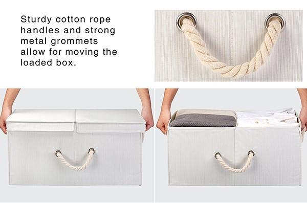 Riesige Kapazität Doppelt Geöffnetem Deckel Polyester Unterteilt ...